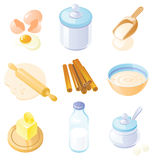 Baking set - country style Royalty Free Stock Images