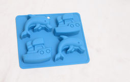 Baking silicone mould Royalty Free Stock Photography
