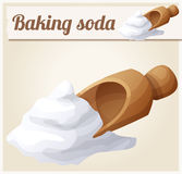 Baking soda. Detailed Vector Icon Royalty Free Stock Images