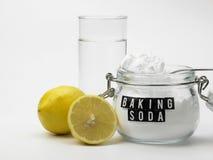 Baking soda Royalty Free Stock Photo