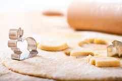 Baking with spring motives Royalty Free Stock Photo