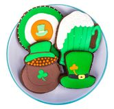 Baking for St. Patrick`s Day. Studio Photo Stock Images