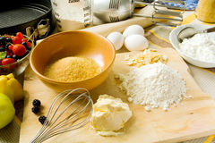 Baking table Stock Photography
