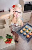 Baking time Royalty Free Stock Images