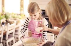 Baking time Stock Image