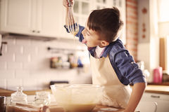 Baking time Royalty Free Stock Photography