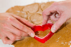 Baking together Stock Images