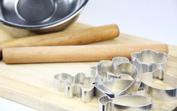 Baking tools Royalty Free Stock Photos