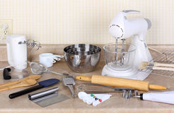 Baking Tools and Appliances Stock Images