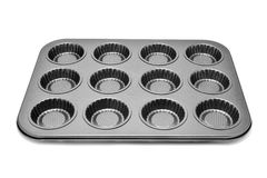 Baking tray for muffins or cupcakes Stock Photo