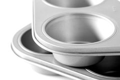 Baking trays D Stock Photo