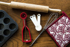 Baking utensils. Stock Photo