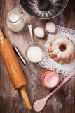 Baking utensils royalty free stock photography