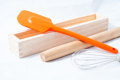 Baking utensils Royalty Free Stock Image