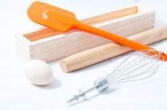 Baking utensils Royalty Free Stock Photos