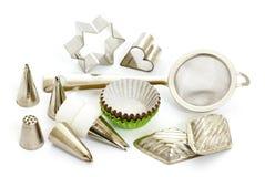 Baking utensils Royalty Free Stock Images