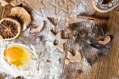 Baking utensils Stock Photography