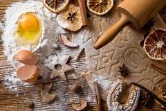 Baking utensils Royalty Free Stock Photos