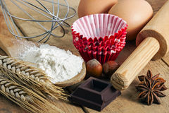 Baking utensils Stock Image