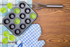 Baking utensils Royalty Free Stock Images