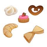 Baking vector set. Royalty Free Stock Photos