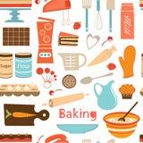 Baking wallpaper Royalty Free Stock Photos