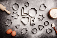 Free Baking With Love Stock Photos - 81691173
