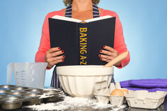 Baking A-Z Royalty Free Stock Photo
