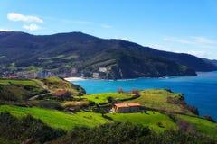 Bakio coast. In Basque Country stock photos