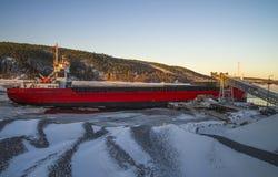 Bakke shipping harbor and storage, image 13 Royalty Free Stock Image