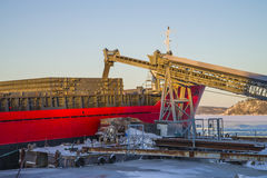 Bakke shipping harbor and storage, image 18 Royalty Free Stock Image