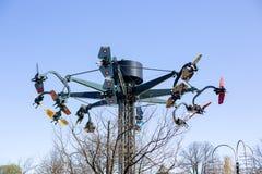 Bakken Amusement Park in Copenhagen, Denmark royalty free stock photos