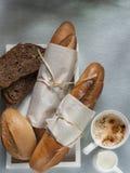 Bakkerij die gezond voedsel stileren Royalty-vrije Stock Afbeeldingen