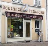 Bakkerij en gebakje in Avignon Frankrijk Stock Foto