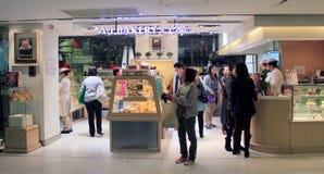 A1 bakkerij en koffie in Hongkong Royalty-vrije Stock Foto