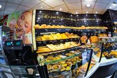 Bakkerij in Madrid Stock Afbeelding