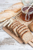Bakkerijbrood stock fotografie