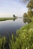 Bakkerskil-Nebenfluss nahe Nieuwendijk Lizenzfreies Stockfoto