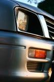 Bakkie/lámpara principal del carro con el indicador Fotos de archivo libres de regalías