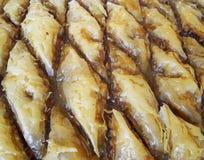 Baklava, παραδοσιακό ανατολικό γλυκό midle Στοκ Εικόνα