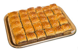 The baklava Royalty Free Stock Photo