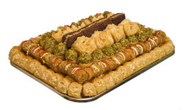 The baklava Stock Image
