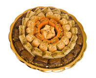 The baklava stock images