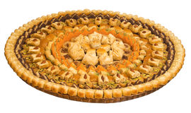 The baklava Royalty Free Stock Photography