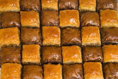 The baklava Royalty Free Stock Photos
