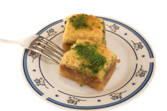 Baklava Foto de Stock Royalty Free