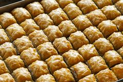 Baklava Royalty Free Stock Photo