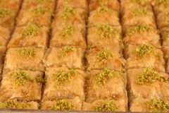 Baklava stockfotos