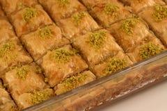 Baklava. Freshly made Turkish/Greek baklava Stock Photos