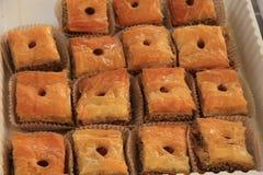 Baklava Fotografía de archivo libre de regalías